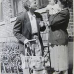 Author as infant with grandparents-1